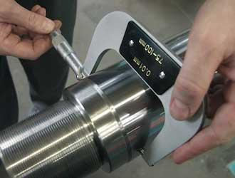 Messbügel im Mikrometerbereich